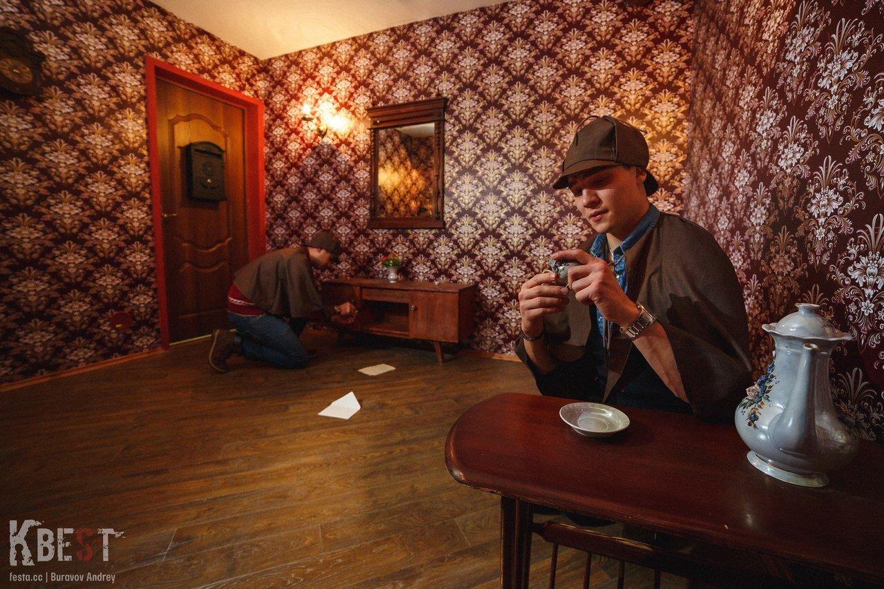 Отзывы о квесте шерлок холмс фото участников